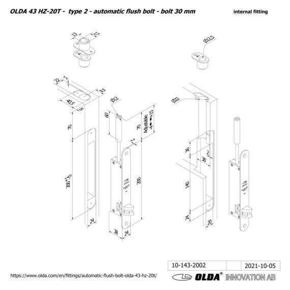 OLDA-43-HZA-20T-t2-bolt-60-DIM-int-JPG