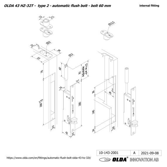 OLDA-43-HZA-32T-t2-bolt-60-DIM-int-JPG