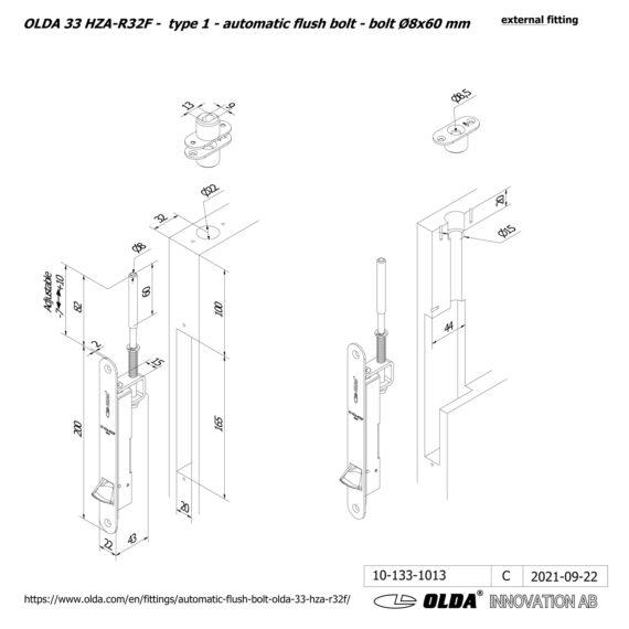 OLDA-33-HZA-R32F-t1-bolt-8×60-DIM-ext-JPG