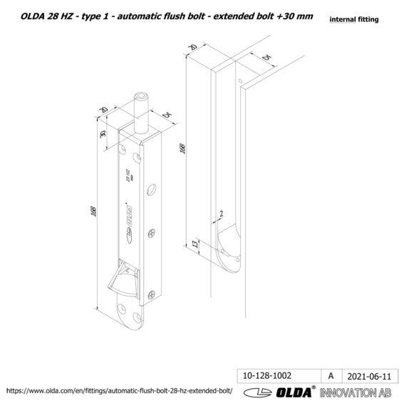 OLDA-28-HZA-t1-extended-bolt-30-DIM-int-JPG