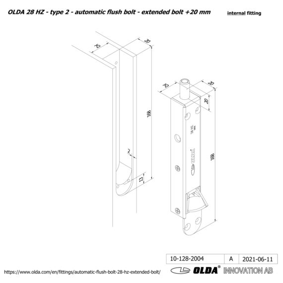 OLDA-28-HZA-t2-extended-bolt-20-DIM-int-JPG
