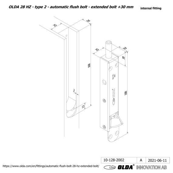 OLDA-28-HZA-t2-extended-bolt-30-DIM-int-JPG