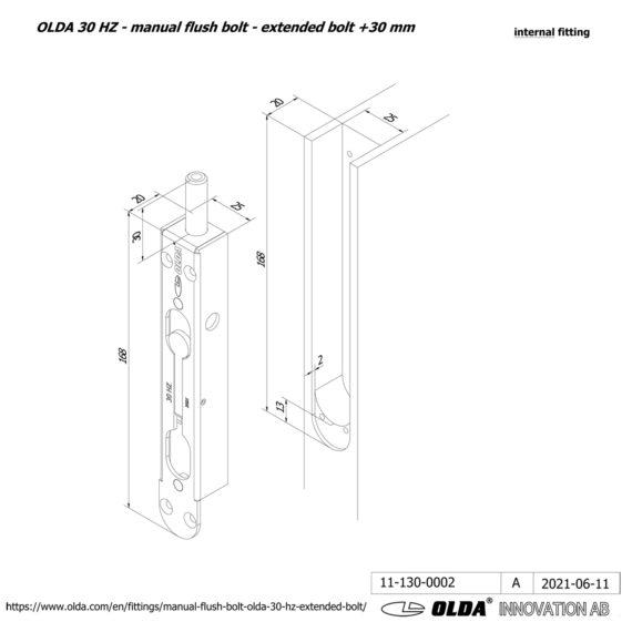 OLDA-30-HZM-extended-bolt-30-DIM-int-JPG