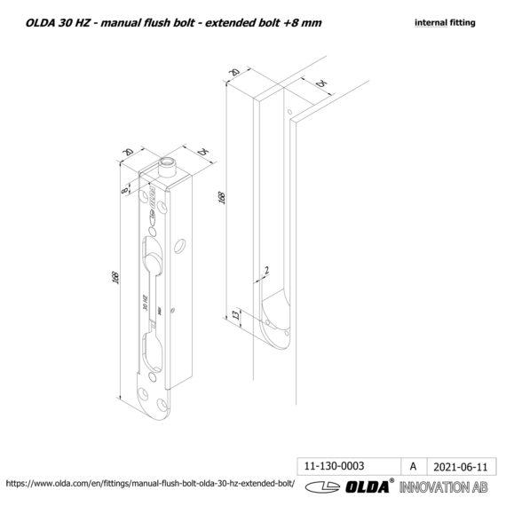 OLDA-30-HZM-extended-bolt-8-DIM-int-JPG