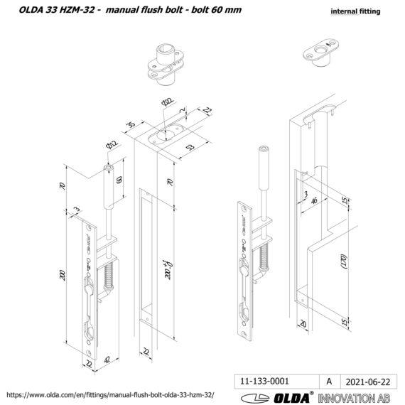OLDA-33-HZM-32-bolt-60-DIM-int-JPG